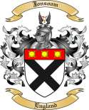 Jonsoom Family Coat of Arms from England2