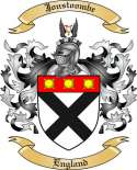 Jonstoombe Family Coat of Arms from England2