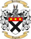 Jonstum Family Coat of Arms from England2