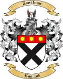 Jonstume Family Crest from England2