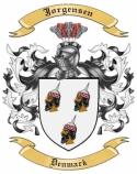 Jorgensen Family Crest from Denmark