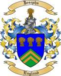 Josephs Family Crest from England