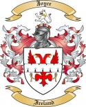 Joyce Family Crest from Ireland