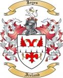 Joyes Family Crest from Ireland