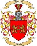 Juarez Family Coat of Arms from Spain