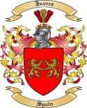 Juarez Family Crest from Spain