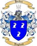 Juckes Family Crest from England