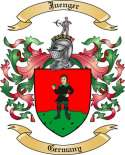 Juenger Family Coat of Arms from Germany