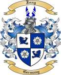 Jung Family Crest from Germany