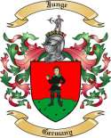 Junge Family Coat of Arms from Germany