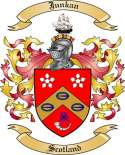 Junkan Family Crest from Scotland