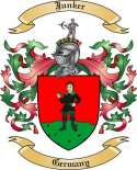 Junker Family Crest from Germany