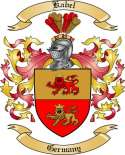 Kabel Family Coat of Arms from Germany