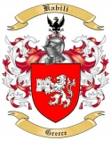 Kabili Family Coat of Arms from Greece