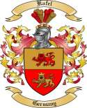 Kafel Family Crest from Germany