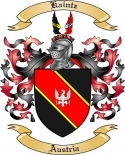 Kaintz Family Coat of Arms from Austria