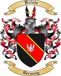 Kaintz Family Coat of Arms from Germany