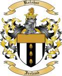 Kalaher Family Crest from Ireland