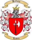 Kalinin Family Coat of Arms from Latvia