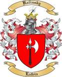 Kalinsky Family Coat of Arms from Latvia
