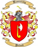 Kamenicky Family Coat of Arms from Poland