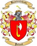 Kamieniewski Family Crest from Poland