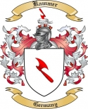 Kammer Family Coat of Arms from Germany