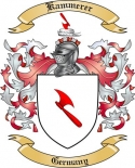 Kammerer Family Coat of Arms from Germany