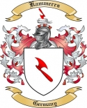 Kammerrs Family Crest from Germany