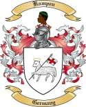 Kampen Family Coat of Arms from Germany