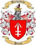 Kanigowski Family Crest from Poland