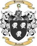 Kannady Family Coat of Arms from Ireland