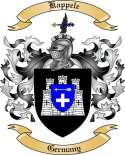 Kappele Family Crest from Germany
