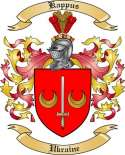 Kappus Family Crest from Ukraine
