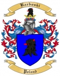 Karboski Family Coat of Arms from Poland