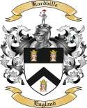 Kardville Family Crest from England