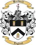 Kardwell Family Coat of Arms from England