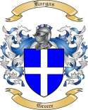Kargas Family Coat of Arms from Greece