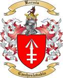 Karnis Family Coat of Arms from Czechoslovakia