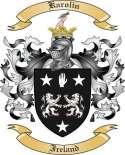 Karolin Family Crest from Ireland