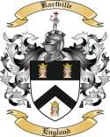 Kartville Family Coat of Arms from England