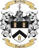 Kartville Family Crest from England