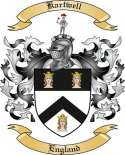 Kartwell Family Coat of Arms from England
