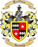 Kauffman Family Coat of Arms from Germany