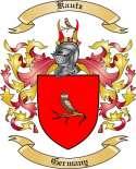 Kautz Family Crest from Germany