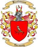 Kautzmann Family Crest from Germany