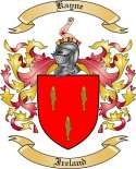 Kayne Family Crest from Ireland2