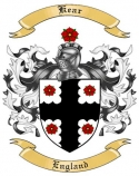 Kear Family Coat of Arms from England