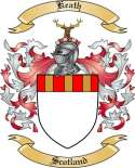 Keath Family Crest from Scotland