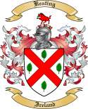 Keating Family Coat of Arms from Ireland
